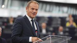 Donald Tusk enige kandidaat-voorzitter Europese Volkspartij