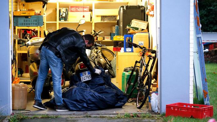 Beeld van de actie tegen de Ndrangheta in Duitsland
