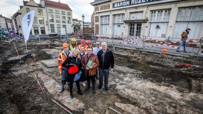 """Archeologen leggen Katelijnepoort uit 15de eeuw bloot: """"Zelfs dynamiet kon ze niet helemaal verwoesten"""""""