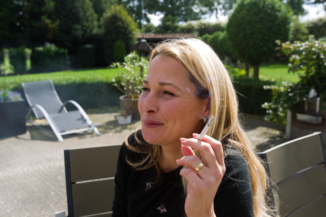 Janneke Dielissen uit Deurne doet mee aan het tv-programma We Stoppen.