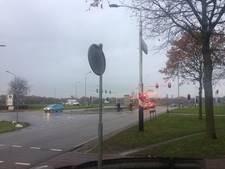 Extra stoplichten erbij op de kop van Industrielaan Uden