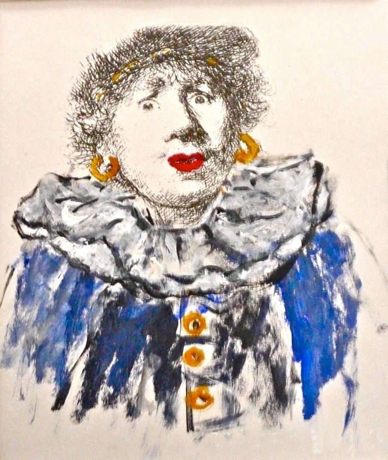 Rembrandt-Piet Beeld Carmen Vossen