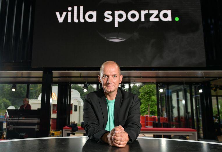 Karl Vannieuwkerke in 'Villa Sporza'