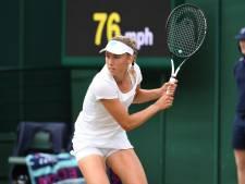 Elise Mertens en quarts de finale du double dames