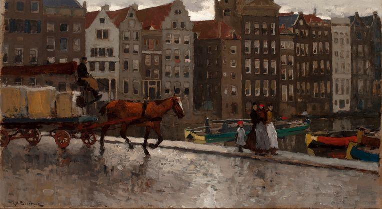 Kunst en antiek zien en kopen tijdens de Amsterdam Art & Antiques Week. Beeld George Hendrik Breitner