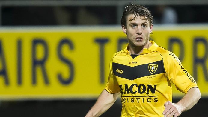 Marcel Meeuwis als speler van VVV.