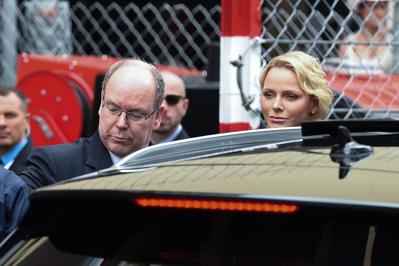 Albert de Monaco et Charlene, Grand Prix de Monaco, 26 mai 2019 à Monte Carlo