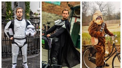 IN BEELD. De week van Sam De Bruyn als 'Star Wars'-held