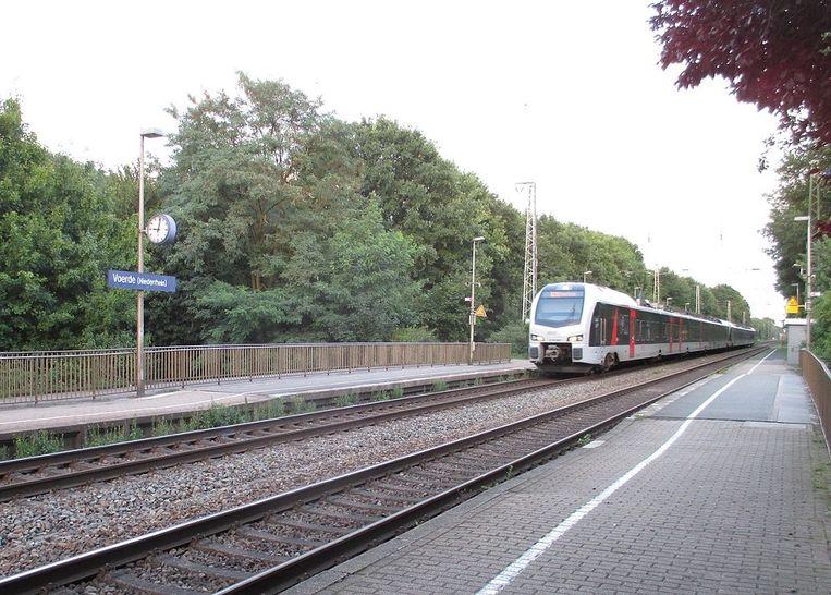 Het station in Voerde.