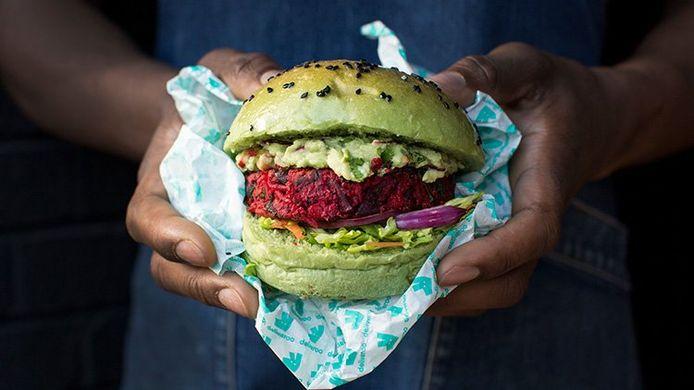Vegetarische bezorgmaaltijden zijn steeds populairder.