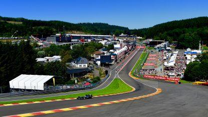 GP van België ook komende drie jaar op F1-kalender