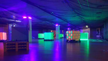 Na mancave nu ook lasershooting in Wijnegem Shopping Center