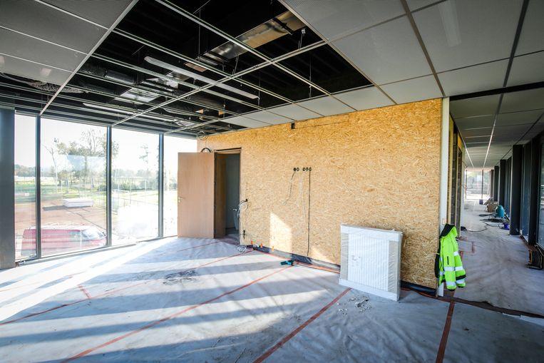 In het nieuwe complex komt ook een vergaderzaal.