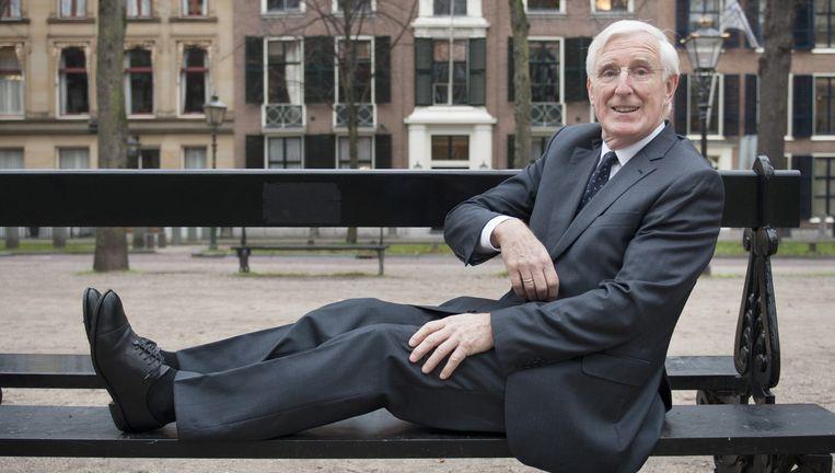 Marten Oosting in Den Haag. Hij was de tweede Nationale Ombudsman en onderzocht de vuurwerkramp in Enschede. Beeld An-Sofie Kesteleyn /  de Volkskrant