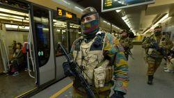 Vanaf september verdwijnen militairen in trein- en metrostations