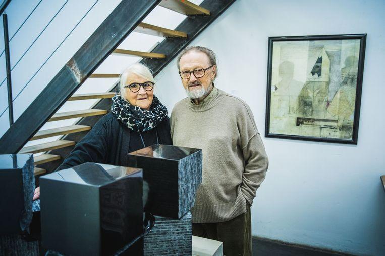 Guido Haudenhuyse en Yvette Lauwert stoppen met hun galerij ArtTrack in de Zuidstationstraat