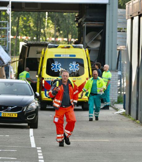 Bedrijfsongeval in Maarssen: persoon met spoed naar het ziekenhuis