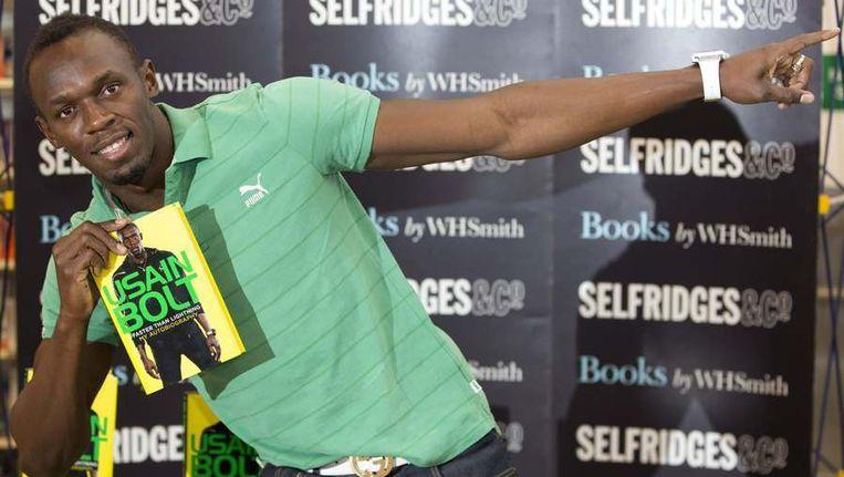 Bolt is uiteraard topfavoriet. Beeld reuters