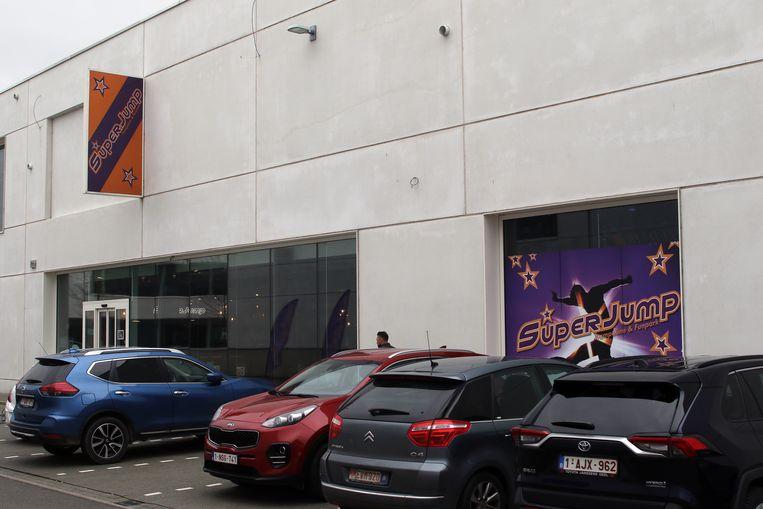 SuperJump is gelegen in het Yellow Park aan de Antwerpseweg.