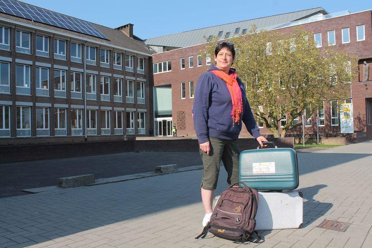 Annick Arijs, een van de leerkrachten op het MPC Sint-Franciscus, hoopt op een duwtje in de rug voor de jaarlijkse schoolreis van de leerlingen van het BuSO.