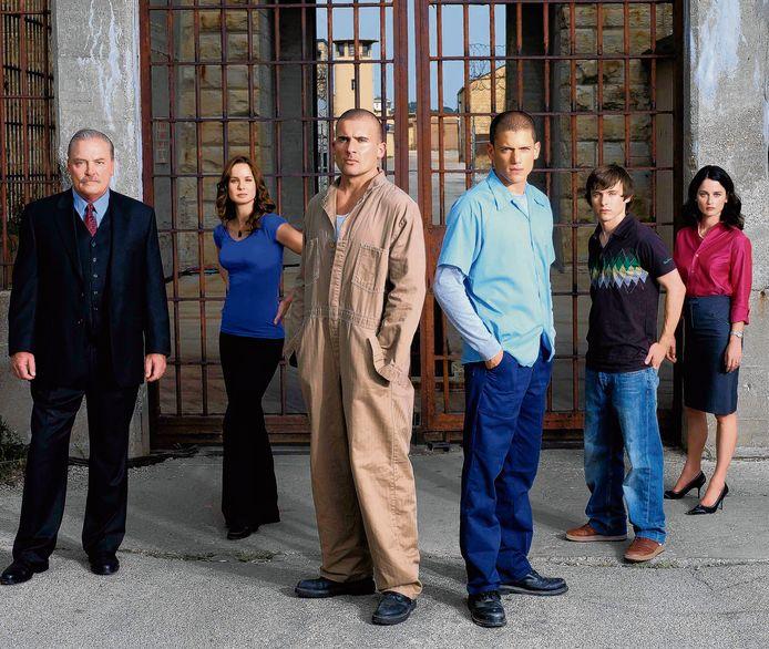 De cast van Prison Break.