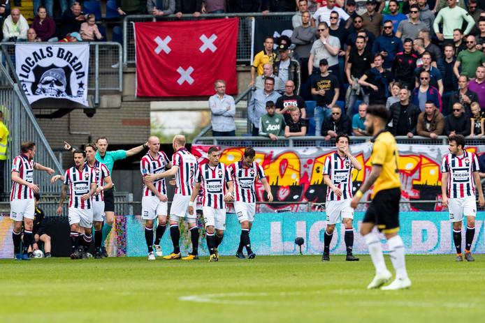 Willem II won eind vorig seizoen op bezoek bij NAC.