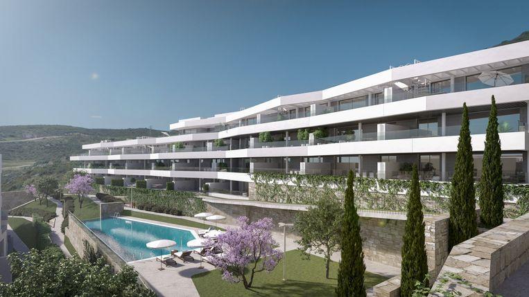 Costa del Sol. Valle Romano, 1slaap- en badkamer. 129.600 euro.