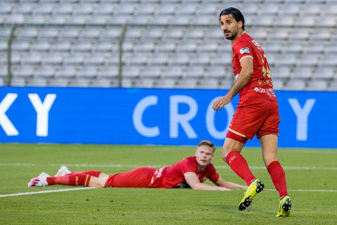 Cinq ans après avoir offert la Coupe à Bruges, Lior Refaelov prive son ancien club du doublé. .