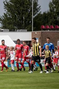 Vrij entree bij oefenduel  Vitesse-Emmen in Driel