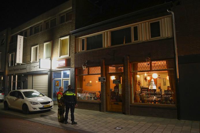 Koolmonoxide in bovenwoning en restaurant in Oss