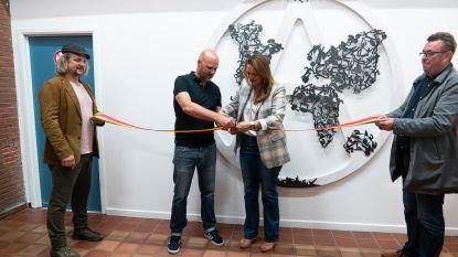 Aarschotse kunstenaar maakt werk voor stedelijke sporthal