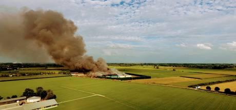 Dikke rookwolk trekt bekijks: 'Mijn zoontje is gek op de brandweer'
