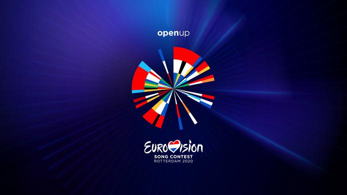 Het logo van het Eurovisie Songfestival 2020.