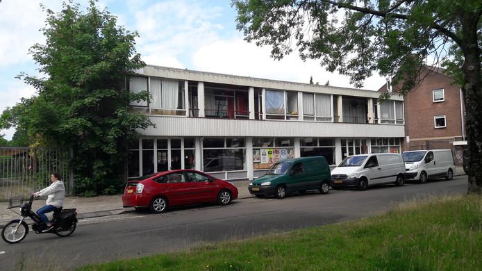 De voormalige garage is geschikt bevonden als woningbouwlocatie.