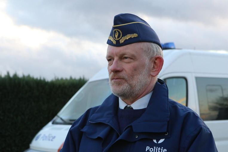 Korpschef Jan Vanhauwere.