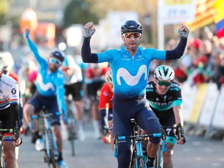 Valverde wint sprint en is nieuwe leider in Catalonië