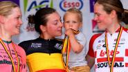 Jonge mama wordt Belgisch kampioene