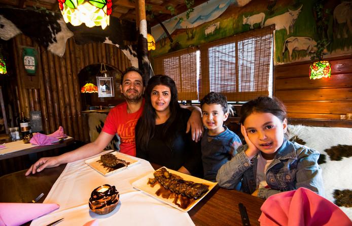 Het Argentijnse restaurant El Caballo in Alphen.