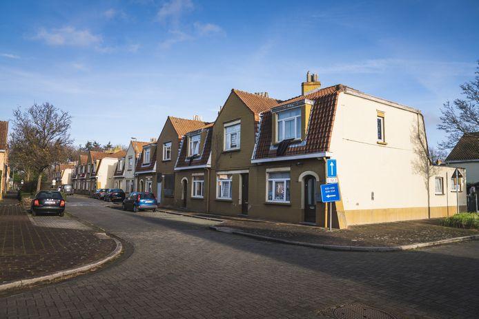 Het intussen bekende beeld van de Sint-Bernadettewijk, één van de eerste sociale woonwijken van het land, gebouwd in 1928.
