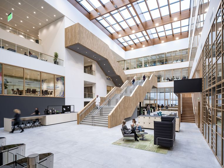 Het nieuwe Foods Innovation Centre van Unilever. Beeld Ossip van Duivenbode