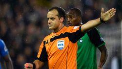FT België. Boucaut is vrijdag de eerste ref die in actie komt na hele heisa rond matchfixing, hij fluit Club Brugge -Waasland-Beveren