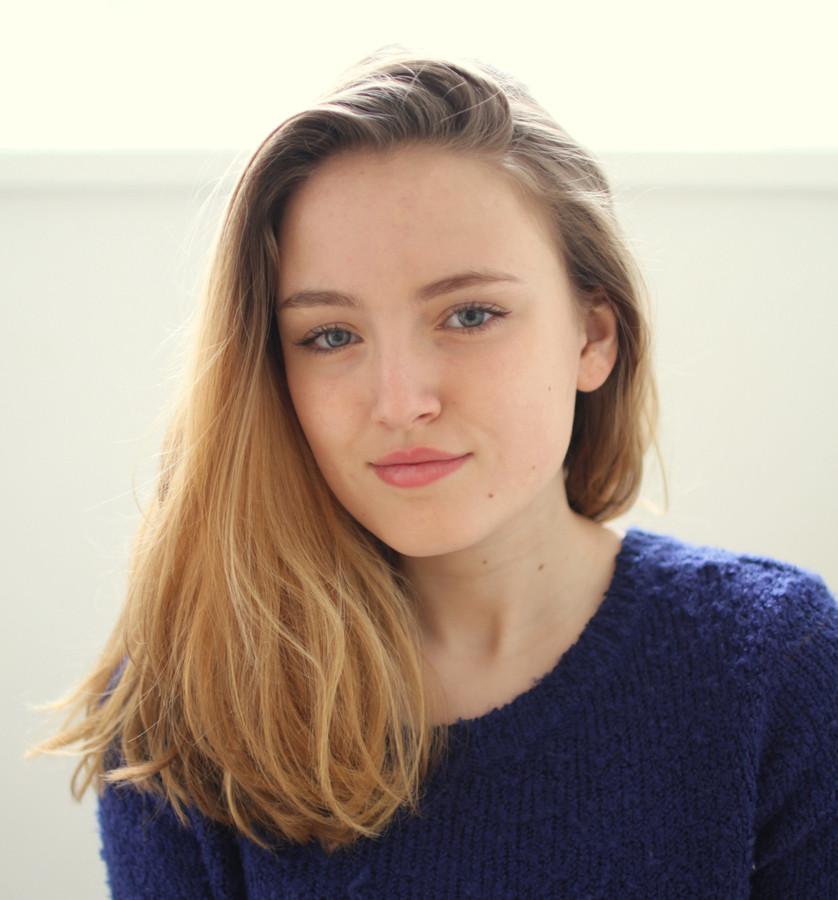 image Belgisch meisje in nederland