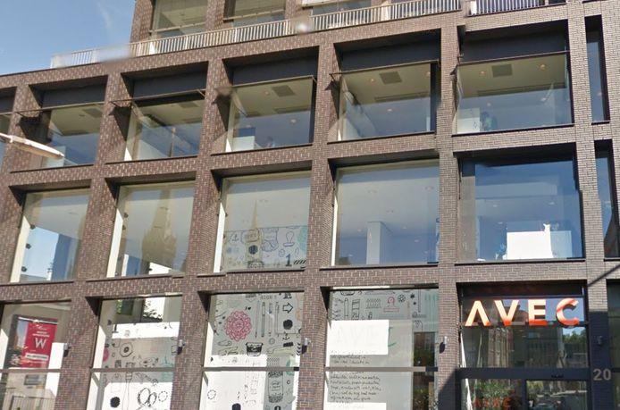 Het Avec-kantoor in het Veemarktkwartier Tilburg.