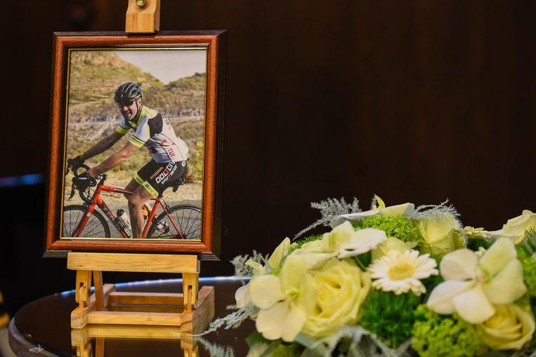 16 februari 2017, dag van de begrafenis van Serge Baguet.