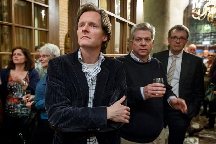 Willem Kraanen vier jaar geleden tijdens de gemeenteraadsverkiezingen. Het CDA verloor twee van de drie zetels.