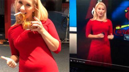 """""""Zou je geen ceintuur dragen over die hangbuik?"""": Amerikaanse weervrouw geeft criticaster lik op stuk"""