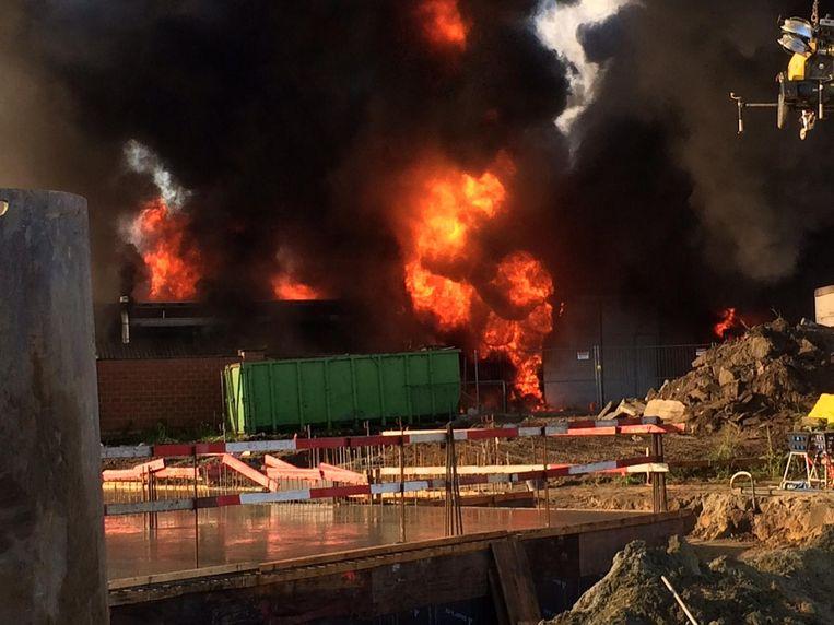 Een verwoestende brand legde carwash Wildemeersch op 31 augustus in de as.