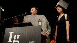 Oververhitte testikels en kankerwerende pizza: dit zijn de winnaars van de Ig Nobelprijzen