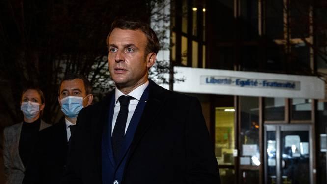Macron belooft beveiliging Franse scholen te verbeteren na onthoofding leraar