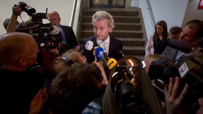 Geert Wilders geeft toelichting op de afgebroken tussenformatie.